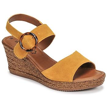 Παπούτσια Γυναίκα Σανδάλια / Πέδιλα S.Oliver SAPINO Moutarde