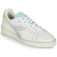 Παπούτσια Γυναίκα Χαμηλά Sneakers Diadora GAME L LOW ICONA WN Άσπρο / Μπλέ
