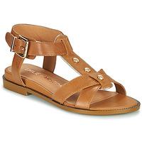 Παπούτσια Γυναίκα Σανδάλια / Πέδιλα Karston SOCAS Camel