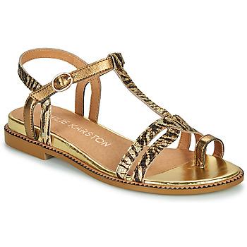 Παπούτσια Γυναίκα Σανδάλια / Πέδιλα Karston SOREN Gold