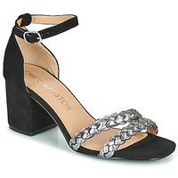 Παπούτσια Γυναίκα Σανδάλια / Πέδιλα Karston POMELOS Black / Argenté