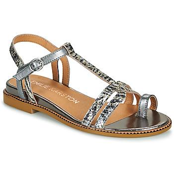 Παπούτσια Γυναίκα Σανδάλια / Πέδιλα Karston SOREN Argenté