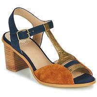 Παπούτσια Γυναίκα Σανδάλια / Πέδιλα Karston LILIAN Brown / Marine