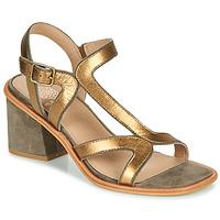 Παπούτσια Γυναίκα Σανδάλια / Πέδιλα Karston PSOK Kaki / Bronze