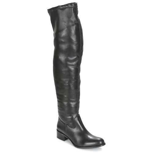 Παπούτσια Γυναίκα Ψηλές μπότες Betty London GLAMOU Black