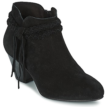 Παπούτσια Γυναίκα Μποτίνια Betty London CROUTILLE Black
