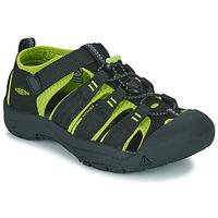Παπούτσια Αγόρι Σπορ σανδάλια Keen NEWPORT H2 Black / Green