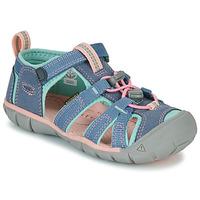 Παπούτσια Κορίτσι Σπορ σανδάλια Keen SEACAMP II CNX Grey / Ροζ