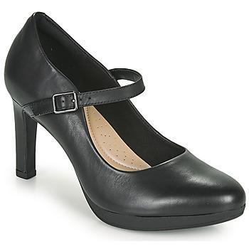 Παπούτσια Γυναίκα Γόβες Clarks AMBYR SHINE Black