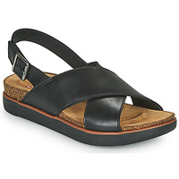 Παπούτσια Γυναίκα Σανδάλια / Πέδιλα Clarks ELAYNE CROSS Black