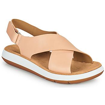 Παπούτσια Γυναίκα Σανδάλια / Πέδιλα Clarks JEMSA CROSS Nude