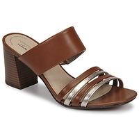Παπούτσια Γυναίκα Τσόκαρα Clarks JOCELYNNE ANDI Brown / Argenté