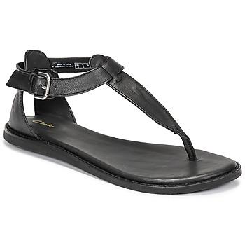 Παπούτσια Γυναίκα Σανδάλια / Πέδιλα Clarks KARSEA POST Black