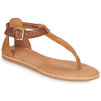 Παπούτσια Γυναίκα Σανδάλια / Πέδιλα Clarks KARSEA POST Brown / Camel