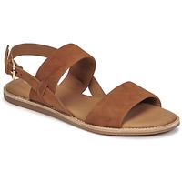 Παπούτσια Γυναίκα Σανδάλια / Πέδιλα Clarks KARSEA STRAP Camel
