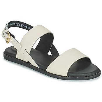 Παπούτσια Γυναίκα Σανδάλια / Πέδιλα Clarks KARSEA STRAP Άσπρο