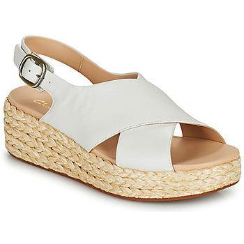 Παπούτσια Γυναίκα Σανδάλια / Πέδιλα Clarks KIMMEI CROSS Άσπρο