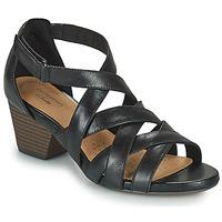 Παπούτσια Γυναίκα Σανδάλια / Πέδιλα Clarks LORENE POP Black