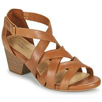 Παπούτσια Γυναίκα Σανδάλια / Πέδιλα Clarks LORENE POP Camel