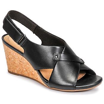 Παπούτσια Γυναίκα Σανδάλια / Πέδιλα Clarks MARGEE EVE Black