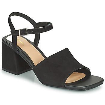 Παπούτσια Γυναίκα Σανδάλια / Πέδιλα Clarks SHEER65 BLOCK Black
