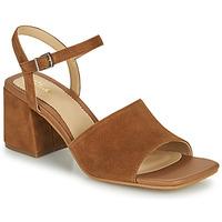 Παπούτσια Γυναίκα Σανδάλια / Πέδιλα Clarks SHEER65 BLOCK Camel