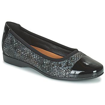 Παπούτσια Γυναίκα Μπαλαρίνες Clarks UN DARCEY CAP2 Black