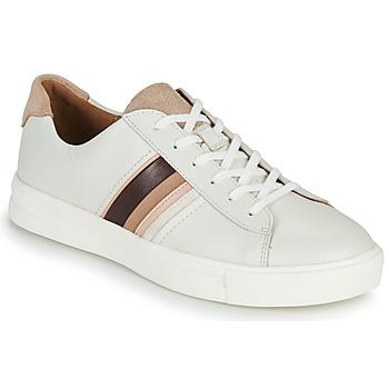 Παπούτσια Γυναίκα Χαμηλά Sneakers Clarks UN MAUI BAND Άσπρο