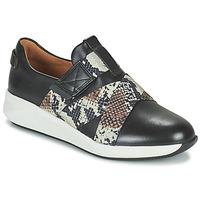 Παπούτσια Γυναίκα Χαμηλά Sneakers Clarks UN RIO STRAP Black