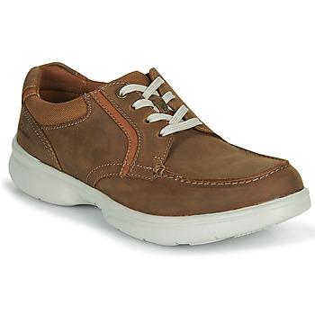 Παπούτσια Άνδρας Derby Clarks BRADLEY VIBE Beige