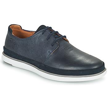 Παπούτσια Άνδρας Derby Clarks BRATTON LACE Μπλέ