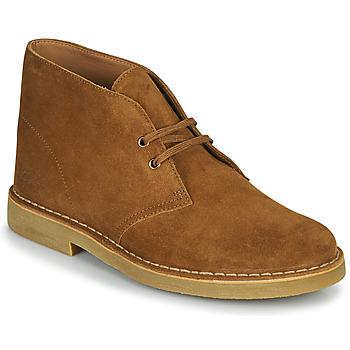 Παπούτσια Άνδρας Μπότες Clarks DESERT BOOT 2 Brown