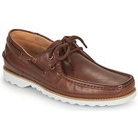 Παπούτσια Άνδρας Boat shoes Clarks DURLEIGH SAIL Brown