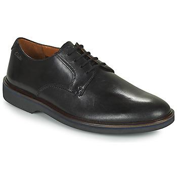 Παπούτσια Άνδρας Derby Clarks MALWOOD PLAIN Black