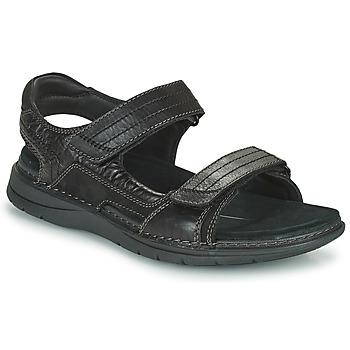 Παπούτσια Άνδρας Σπορ σανδάλια Clarks NATURE TREK Black