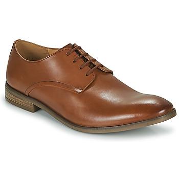 Παπούτσια Άνδρας Derby Clarks STANFORD WALK Brown