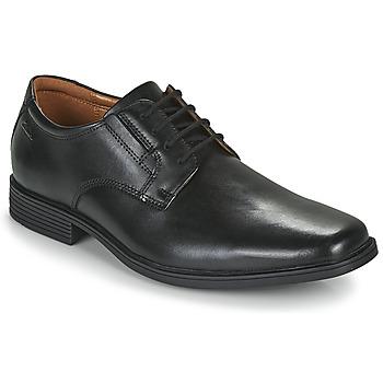 Παπούτσια Άνδρας Derby Clarks TILDEN PLAIN Black