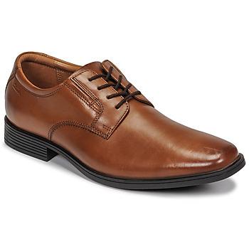 Παπούτσια Άνδρας Derby Clarks TILDEN PLAIN Brown