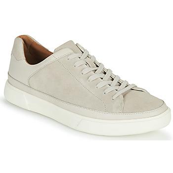 Παπούτσια Άνδρας Χαμηλά Sneakers Clarks UN COSTA TIE Άσπρο