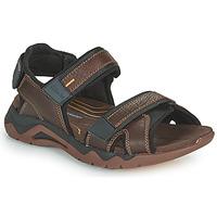 Παπούτσια Άνδρας Σπορ σανδάλια Clarks WAVE2.0 JAUNT Brown