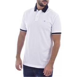 Υφασμάτινα Άνδρας T-shirts & Μπλούζες Hackett HM562698 Άσπρο