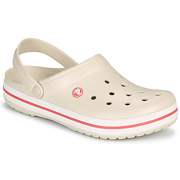 Παπούτσια Γυναίκα Σαμπό Crocs CROCBAND Beige / Corail