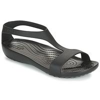 Παπούτσια Γυναίκα Σανδάλια / Πέδιλα Crocs CROCS SERENA SANDAL W Black