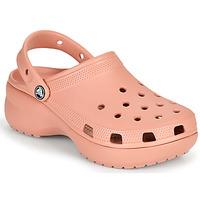 Παπούτσια Γυναίκα Σαμπό Crocs CLASSIC PLATFORM CLOG W Ροζ