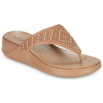 Παπούτσια Γυναίκα Σαγιονάρες Crocs CROCS MONTEREY SHIMMER WGFPW Bronze