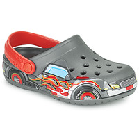 Παπούτσια Αγόρι Σαμπό Crocs FLTRUCKBANDCLOG K Grey / Red