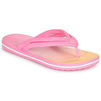 Παπούτσια Γυναίκα Σαγιονάρες Crocs CROCBAND OMBRE FLIP W Ροζ