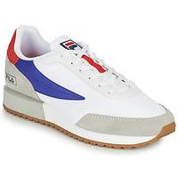 Παπούτσια Άνδρας Χαμηλά Sneakers Fila RETRONIQUE Άσπρο / Μπλέ / Red