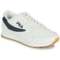 Παπούτσια Άνδρας Χαμηλά Sneakers Fila ORBIT LOW Άσπρο / Μπλέ