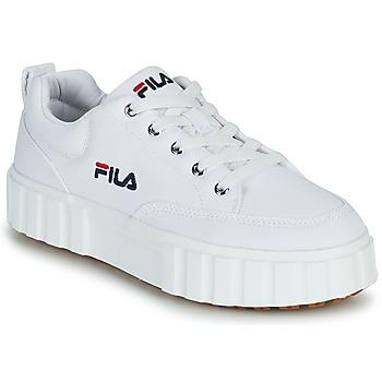 Παπούτσια Γυναίκα Χαμηλά Sneakers Fila SANDBLAST C WMN Άσπρο